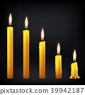 vector, 3d, candle 39942187