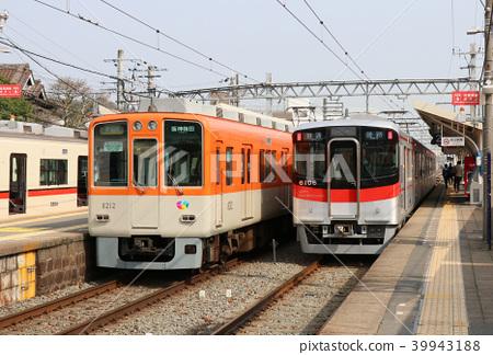 한신 전철과 산요 전철 오시오 역 39943188