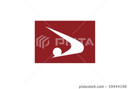Prefecture flag Akita 39944196
