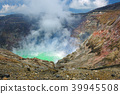 Kumamoto prefecture Aso city Mt. Aso volcano Nakadake crater 39945508