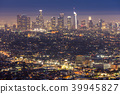 Los Angeles Downtown sunset 39945827
