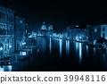 Venice Grand Canal night 39948116