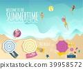 summer, sea, beach 39958572