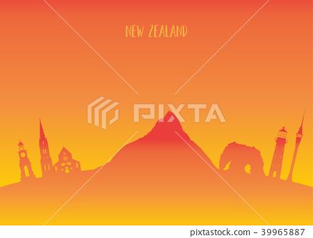New Zeland Landmark Global Travel And Journey. 39965887