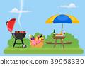 barbecue, basket, picnic 39968330