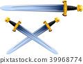 sword viking cartoon 39968774
