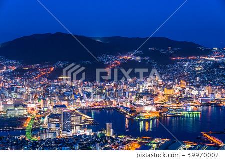 """""""長崎縣""""夜景日本的稻佐山,三大夜景 39970002"""