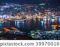 """""""长崎县""""夜景日本的稻佐山,三大夜景 39970016"""