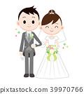 Wedding bride and groom 39970766