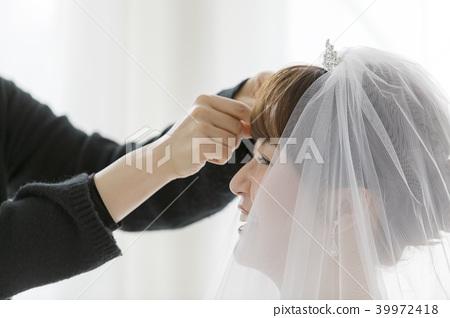 新娘髮型化妝圖像 39972418