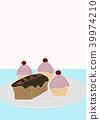 파운드 케이크와 몽블랑 39974210