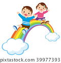 彩虹和孩子们 39977393