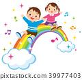 彩虹和孩子们 39977403