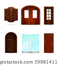 Realistic Front Doors Collection 39981411