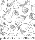 Decorative seamless pattern 39982020