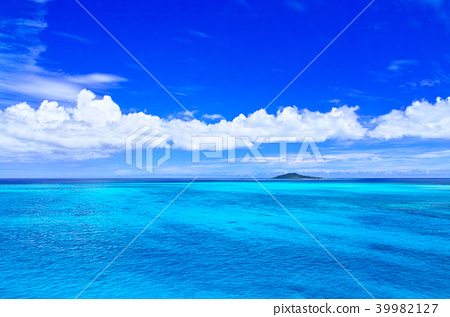 宮古島的宮古島。從池田橋看到的風景 39982127