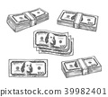 dollar banknote money 39982401