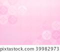 日本紙背景粉紅色 39982973