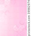 日本紙背景粉紅色 39982974