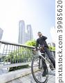 นักธุรกิจเดินทางไปปั่นจักรยาน 39985620