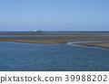 mudflat, tideland, matsusaka 39988202