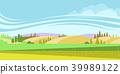 벡터, 시골, 땅 39989122