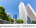 빌딩 단지, 건물 단지, 신록 39990341