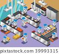 robotic, robot, restaurant 39993315
