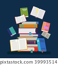 book, education, pile 39993514