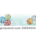 水球 漣漪 波紋 39994044