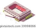 Isometric vector ice 39998066