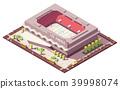 Isometric vector ice 39998074
