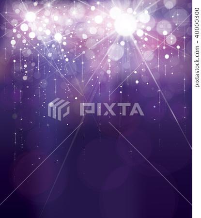 Vector violet lights background.   40000300