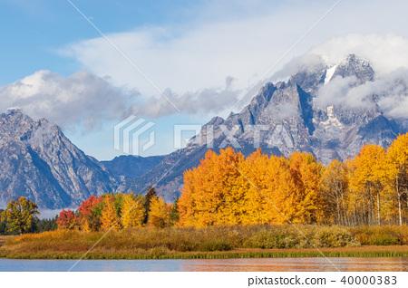 Teton Autumn Landscape 40000383