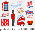 london, symbol, vector 40000988