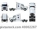 vector truck semi 40002267