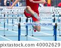 High School Male 110 meter Hurdler 40002629