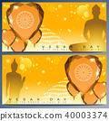 Abstract of Vesak Day 40003374