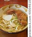 "Okinawa specialty ""Soki soba"" 40004610"