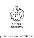 vector, gender, symbol 40007051