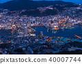 夜景 长崎 城市景观 40007744