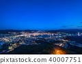 """""""长崎县""""夜景日本的稻佐山,三大夜景 40007751"""