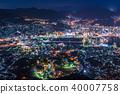 """""""长崎县""""夜景日本的稻佐山,三大夜景 40007758"""