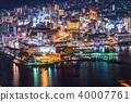 夜景 长崎 城市景观 40007761