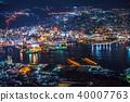 """""""長崎縣""""夜景日本的稻佐山,三大夜景 40007763"""