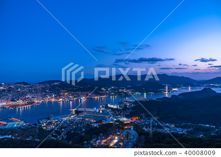 長崎 城市景觀 城市風光 40008009