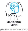 mind management vector 40008228