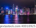 """""""香港""""夜景香港 40010925"""