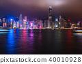 """""""香港""""夜景香港 40010928"""