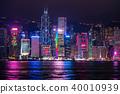 """""""香港""""夜景香港 40010939"""